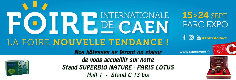 Foire de CAEN - PARIS LOTUS - Hall 1 Stand C 13 bis