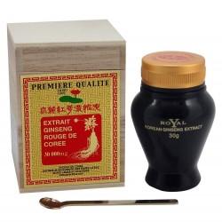Ginseng rouge de Corée en bouteille de 30g d'extrait pur