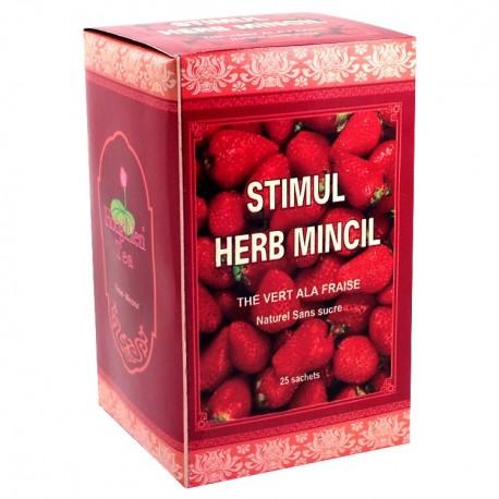 Thé Herb Mincil à la fraise - Hong Lien de Paris Lotus