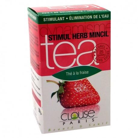 Thé Stimul Mincil à la fraise - CLOUSE