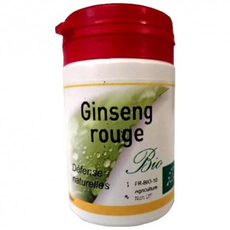 Ginseng rouge de Corée boite de 60 gélules