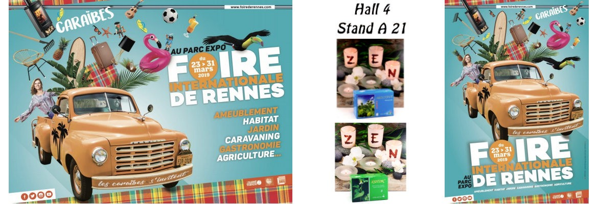 Foire de Rennes 2019 - Hall 4 stand A21 - Paris Lotus Superbio Nature